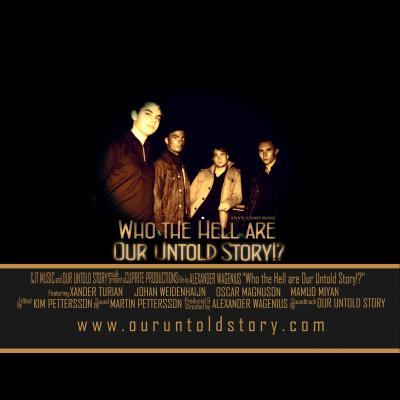 Lead Guitarist - Our Untold Story stor bild